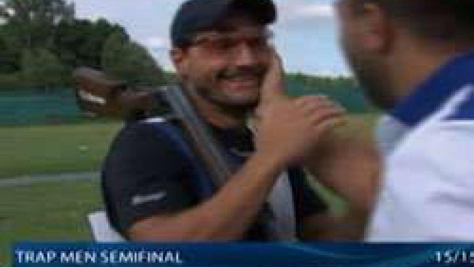 Stefano Selva dopo l'ottima prestazioneMagnifico Selva: quarto posto all'Europeo e carta olimpica