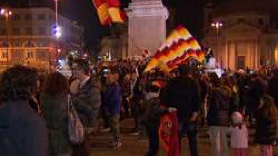 festa RomaLa Roma è in semifinale e nella capitale esplode la festa