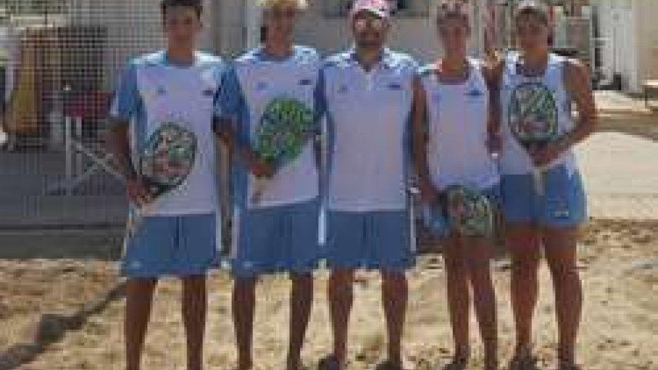 Beach Tennis, grande avvio dei sammarinesi a Mosca