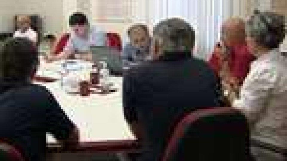 San Marino - Riuniti segreteria e gruppo consiliare del Psd in preparazione dell'incontra tra Patto e Costituente