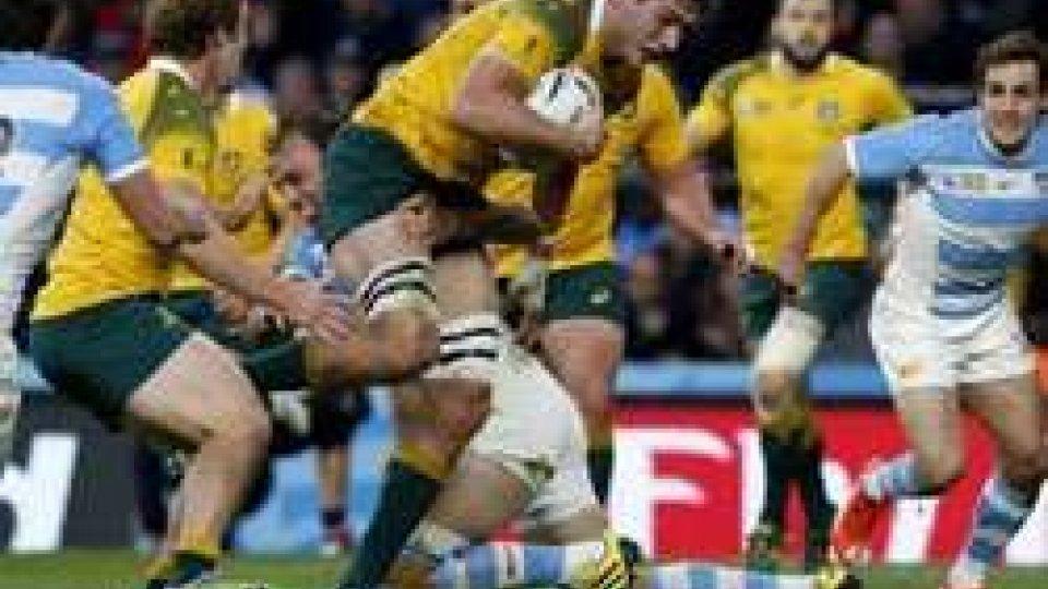 "Australia in finaleMondiali rugby, Australia in finale: Argentina ko, ora il ""derby"" con la Nuova Zelanda"
