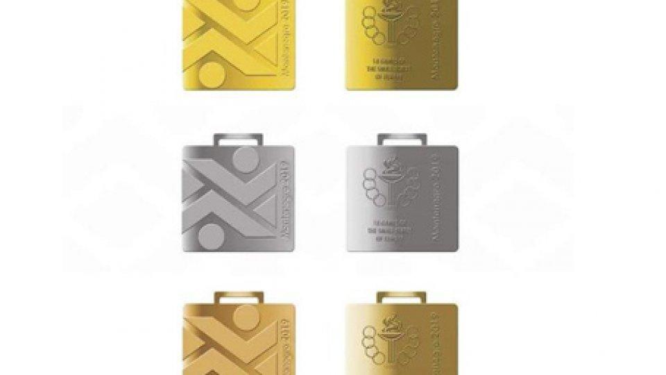 Montenegro2019: ecco le medaglie