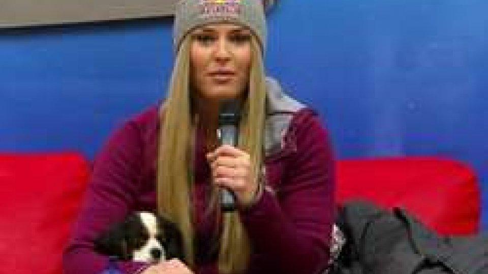 Lindsey VonnSci: domani il gran ritorno di Lindsey Vonn