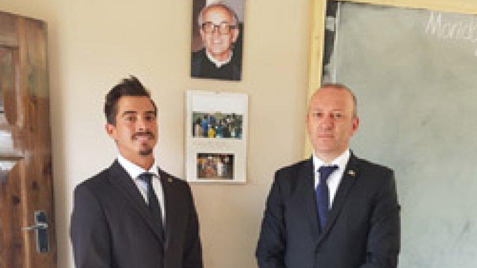 Stefano Palmieri eMatteo CiacciUltime tappe del viaggio africano per la Reggenza