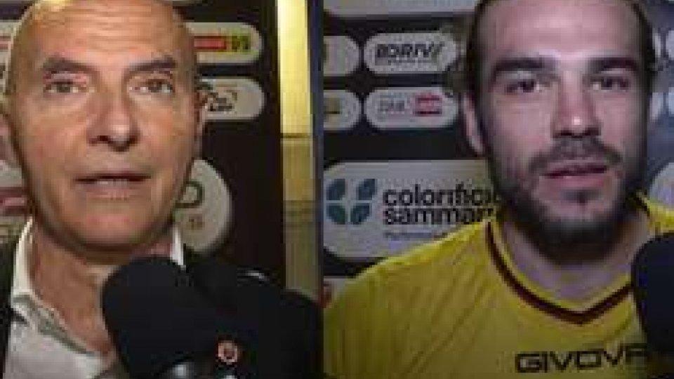Stefano Sacco e Renato CapelliniFolgore: l'amarezza nei commenti di presidente e attaccante