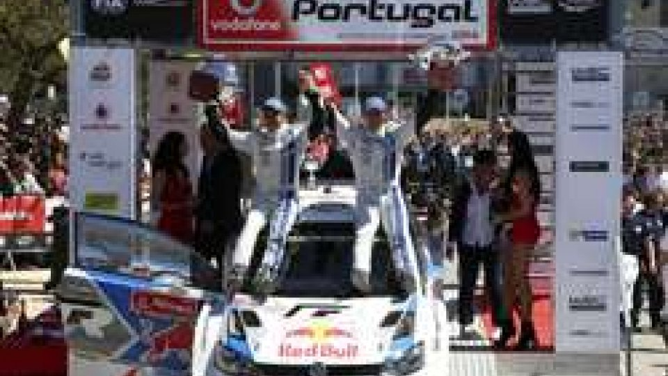 Sebastien Ogier ha vinto il rally del Portogallo