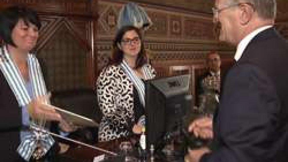 L'ambasciatore d'Italia   presenta le lettere credenzialiL'ambasciatore d'Italia a San Marino, Guido Cerboni, presenta le lettere credenziali