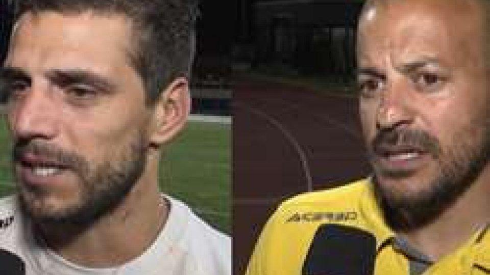 Danilo Rinaldi e Adrian RicchiutiCoppa Titano, i commenti di Ricchiuti e Rinaldi