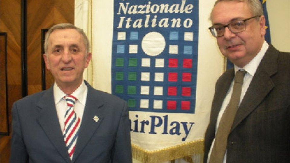 Il Comitato Sammarinese Fair Play a Roma ai Premi Nazionali Fair Play 2018.