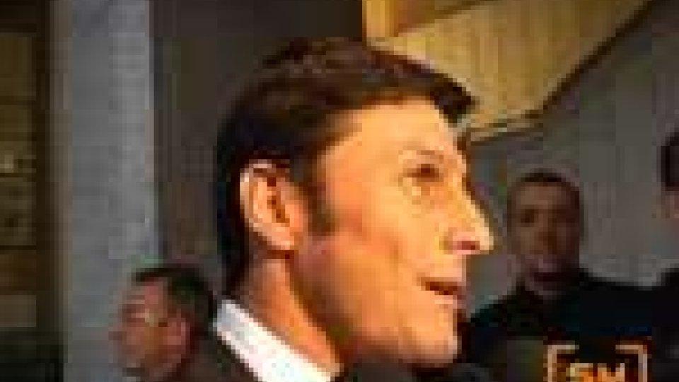 Festa all'Inter per capitan Zanetti