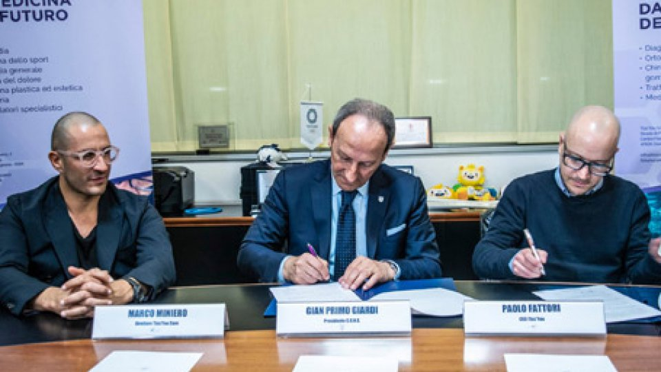 La firma dell'accordoAccordo di collaborazione tra CONS e Tiss'You Care