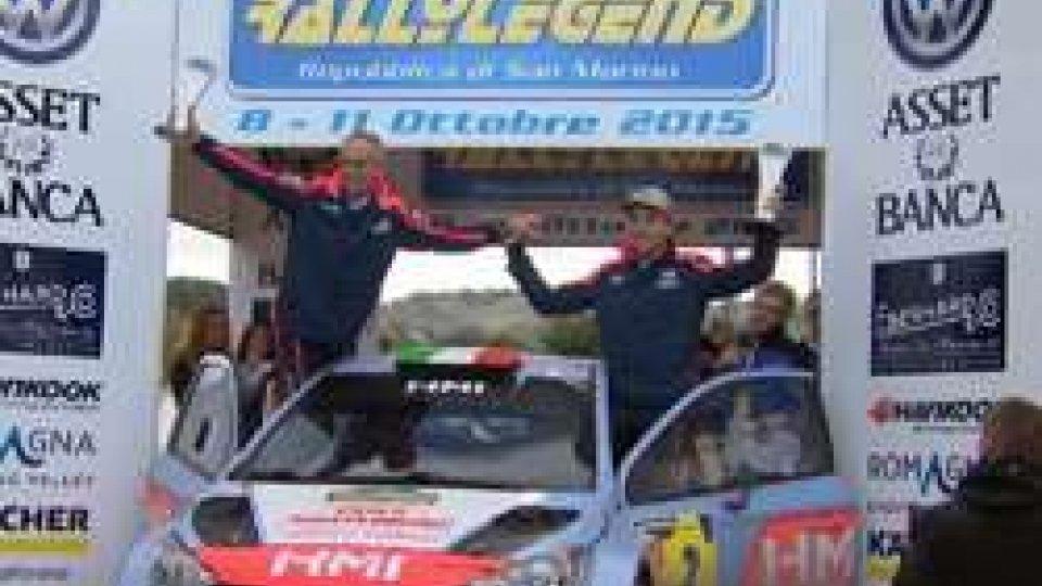 A Cairoli il Rally Legend 2015A Tony Cairoli il Rally Legend 2015