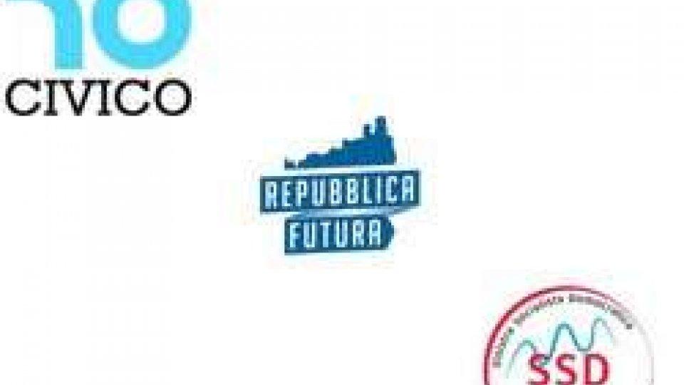ADESSO CI PRESENTIAMO! a Domagnano Civico 10, #Repubblica futura e Sinistra Socialista Democratica