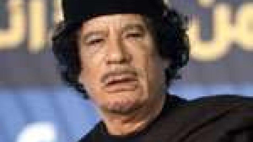 Libia: Gheddafi, accuse alla Nato