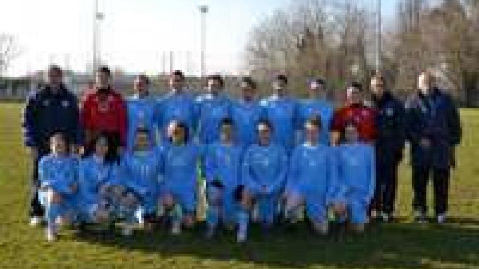 Calcio femminile: seconda vittoria per le ragazze della FSGC