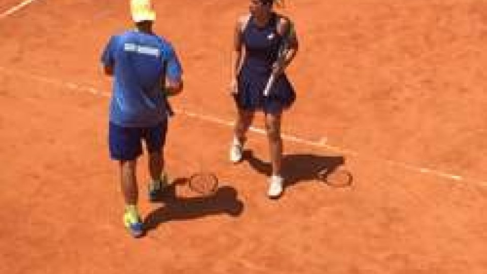 Tennis: De Rossi e Barbieri bronzo con rammaricoTennis: De Rossi e Barbieri bronzo con rammarico
