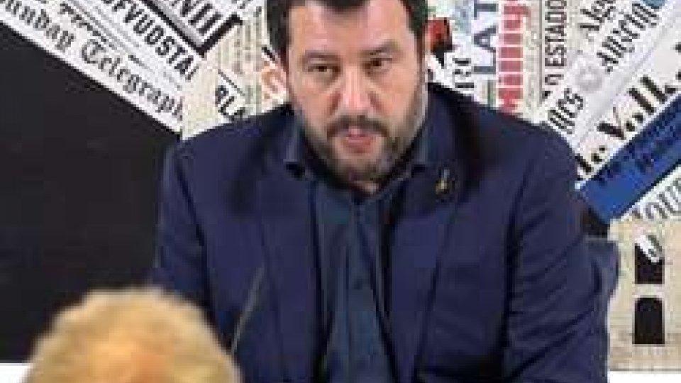 """Matteo SalviniSalvini alla Stampa Estera: """"C'è concorrenza sleale nell'Ue con sistemi fiscali diversi"""""""