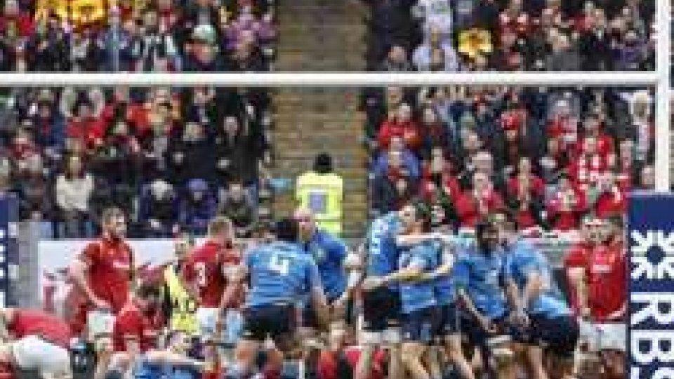 Rugby: esordio amaro per l'Italrugby