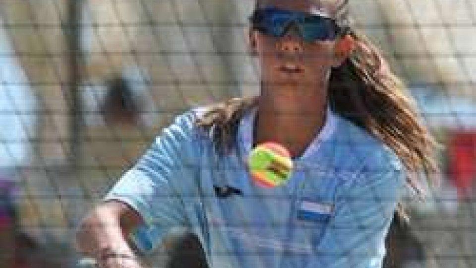 Alice GrandiBeach Tennis doppio femminile : San Marino in semifinale