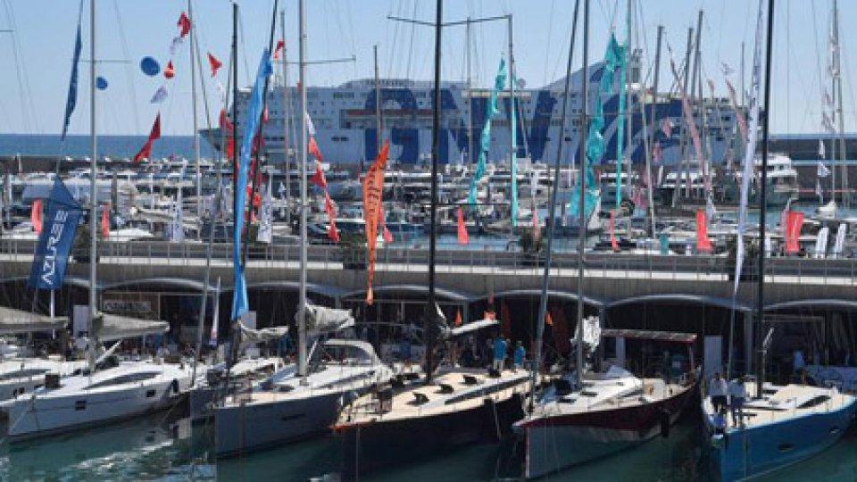 Porto di Rimini. Foto ansa