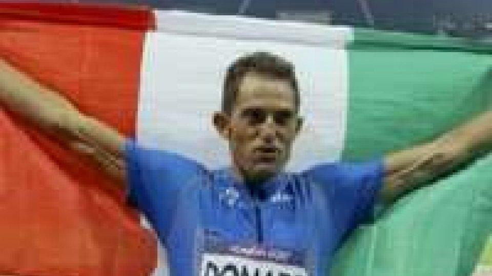 A Donato il bronzo nel salto triplo