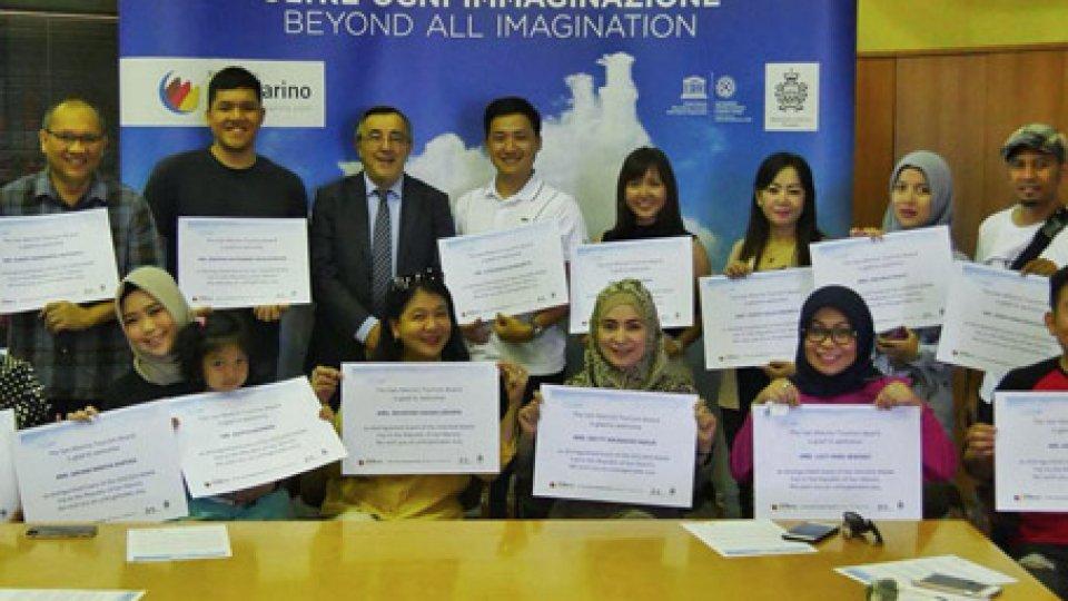 Agenzia per Sviluppo Economico - Camera di Commercio San Marino: Turisti indonesiani a San Marino