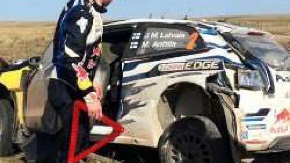 Rally Argentina: incidente per Latvala