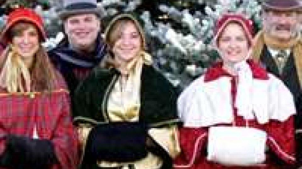 """Questa sera il coro """"Christmas Carolers"""""""