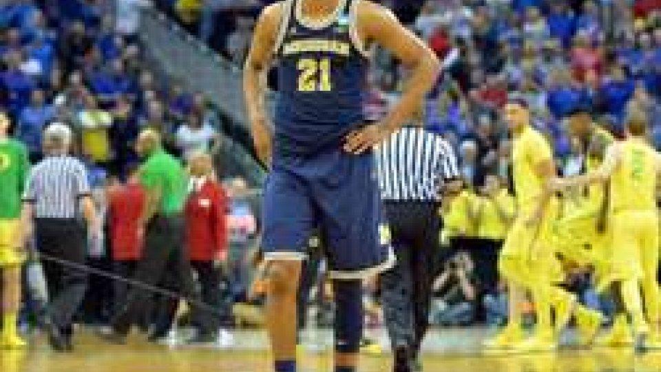 Basket: Zak Irvin abbandona improvvisamente la VL Pesaro