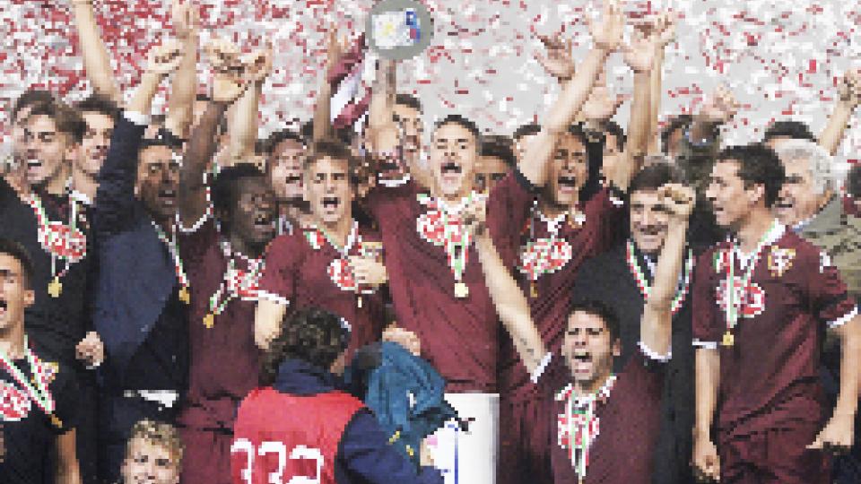 Primavera, la Supercoppa al Toro : a segno il sammarinese Filippo Berardi.