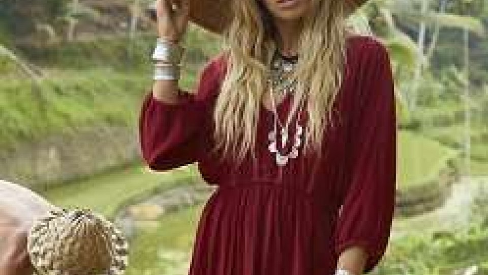 Moda: Bohemian style