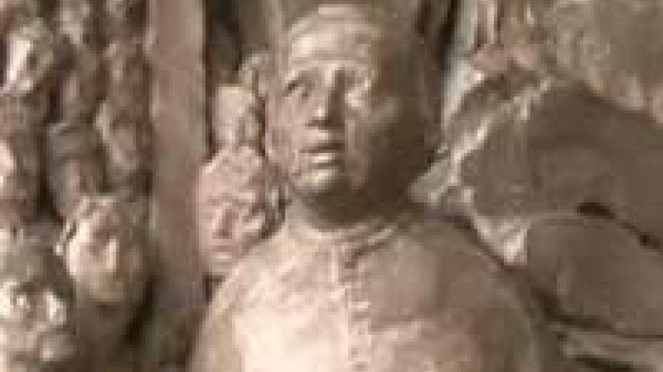 Bassorilievo bronzeo in memoria di Monsignor Luigi Giussani
