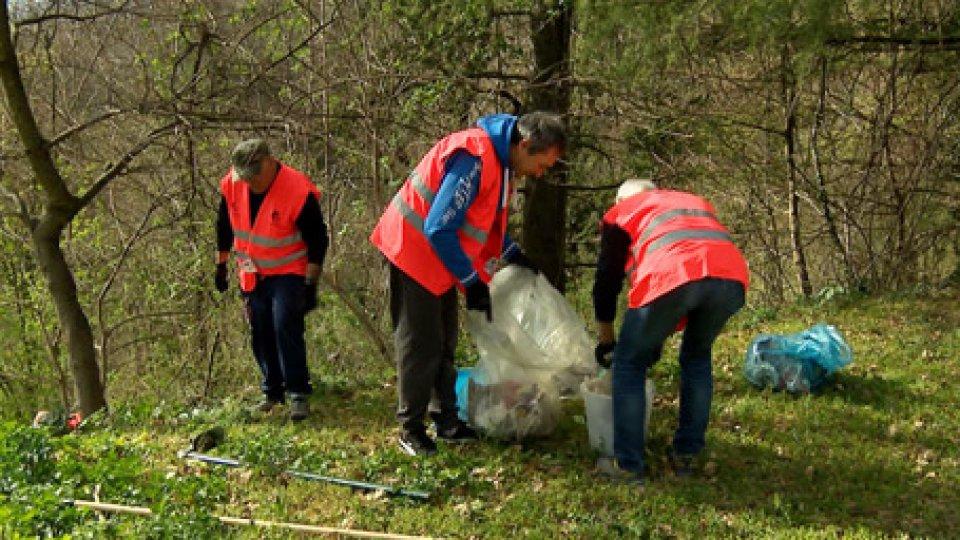 L'iniziativa della Federazione Sammarinese Ciclismo[VIDEO] Giornata ecologica a Montecchio per raccogliere rifiuti