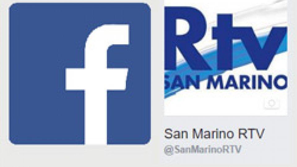 La pagina Facebook di San Marino RTV temporaneamente inattiva