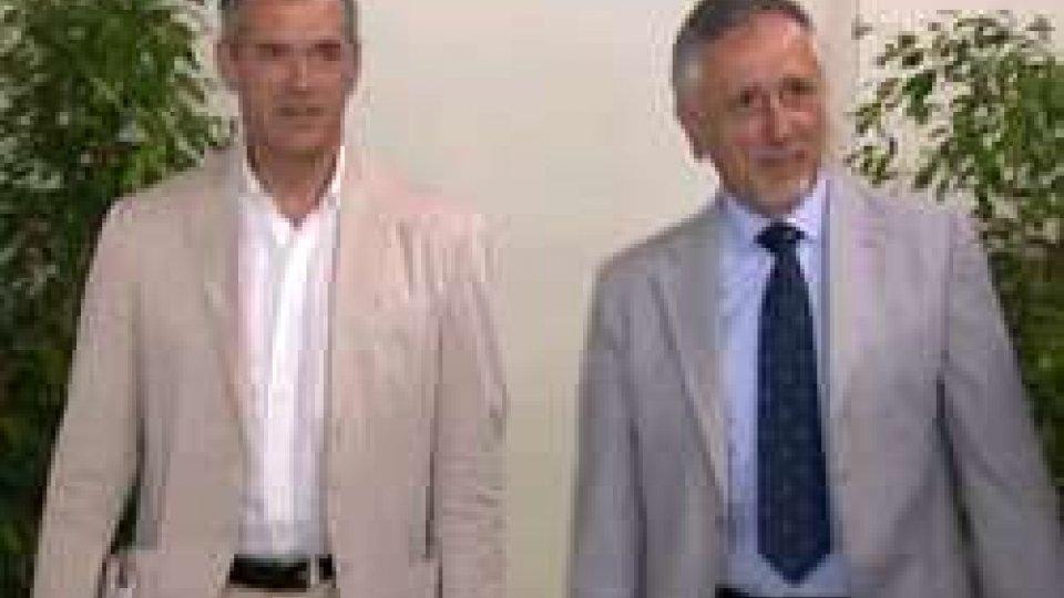 """Carlo Cottarelli e Pasquale ValentiniMeeting, Cottarelli: """"La ripresa c'è stata"""""""