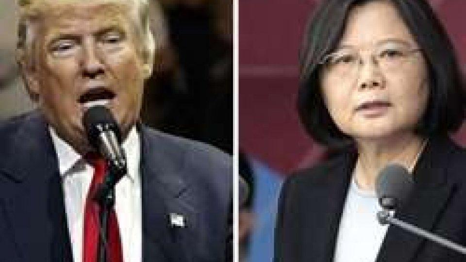 Donald Trump e Tsai Ing-wen
