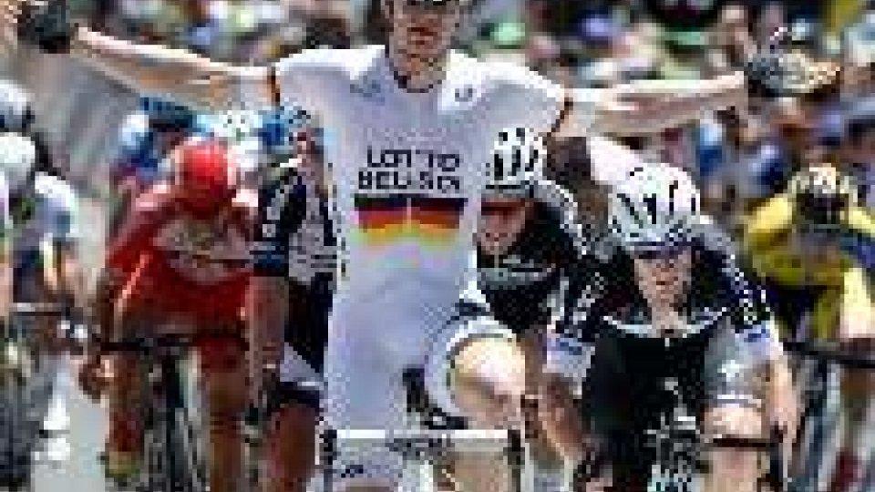 Tour de France: Andrè Greipel ha vinto in volata la sesta tappa