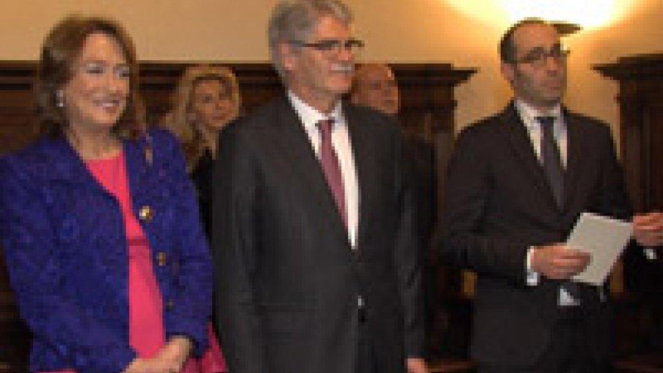 L'Ambasciatore di Spagna presenza le lettere credenzialiL'Ambasciatore di Spagna presenza le lettere credenziali: amicizia antica, principi comuni ed Europa