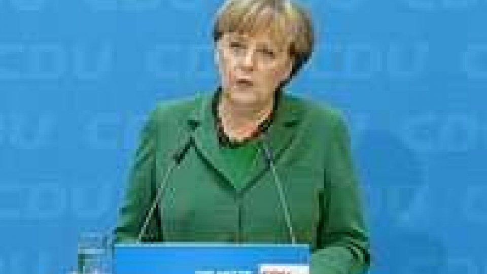 "Angela Merkel: ""Fiscal compact non rinegoziabile"""