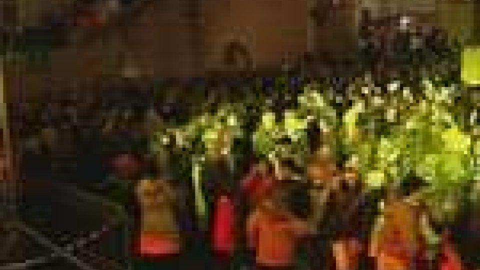 Festeggiamenti in Piazza Sant'Agata