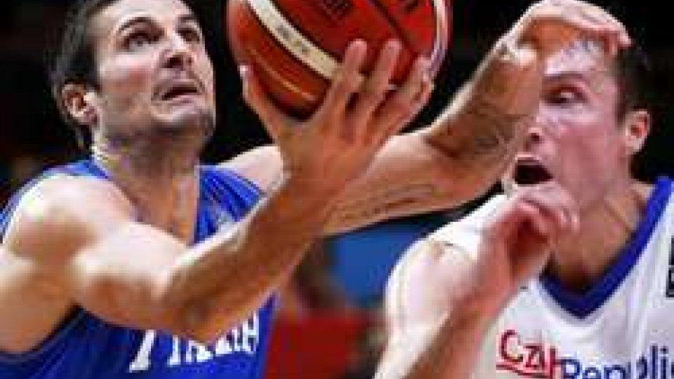 Eurobasket: Repubblica Ceca ko, l'Italia torna a vincere e conquista il Preolimpico