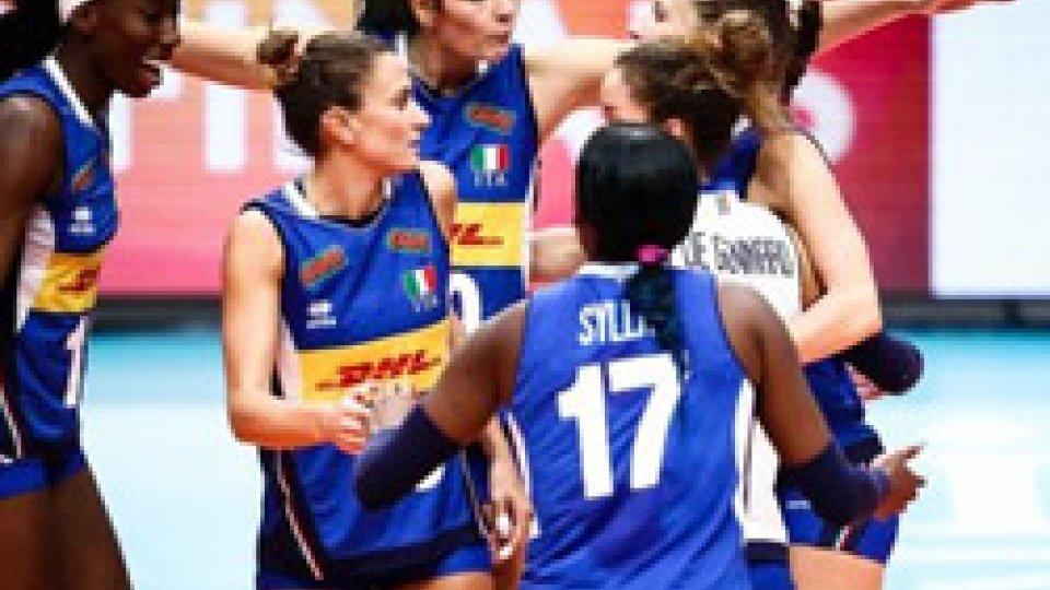 Volley, mondiali donne