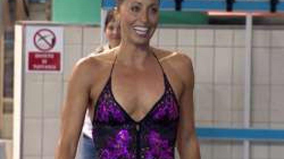 """Gemma MengualLa piscina del Multieventi Sport Domus ospita il """" Trofeo Synchro Sping 2017"""", gara nazionale di nuoto sincronizzato"""
