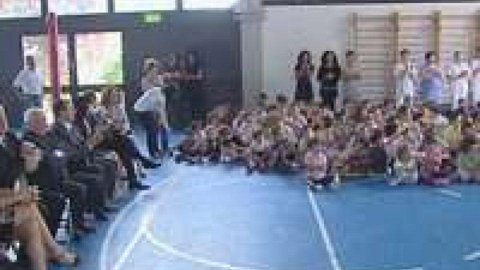 San Marino - La Reggenza in visita alle scuole di Montegiardino
