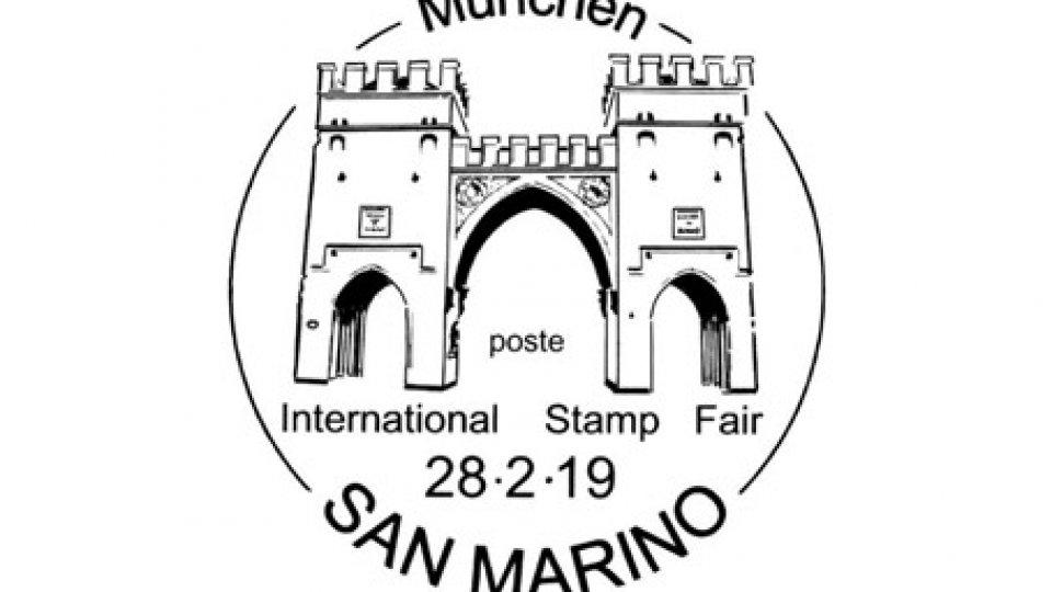 UFN: annullo speciale Mostra filatelica internazionale di Monaco