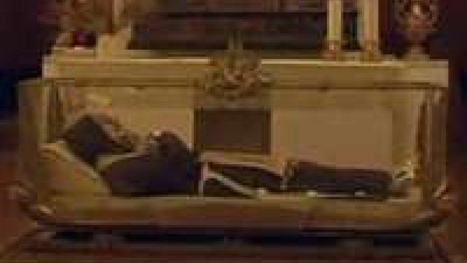 A 350 anni dalla morte di San Giuseppe da Copertino la reliquia nella chiesetta di CittàA 350 anni dalla morte di San Giuseppe da Copertino la reliquia nella chiesetta di Città