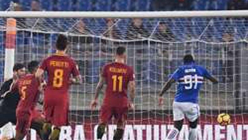 Il gol di Duvan Zapata (@sportmediaset)Serie A: è sempre più fuga a due, la Roma non vince più