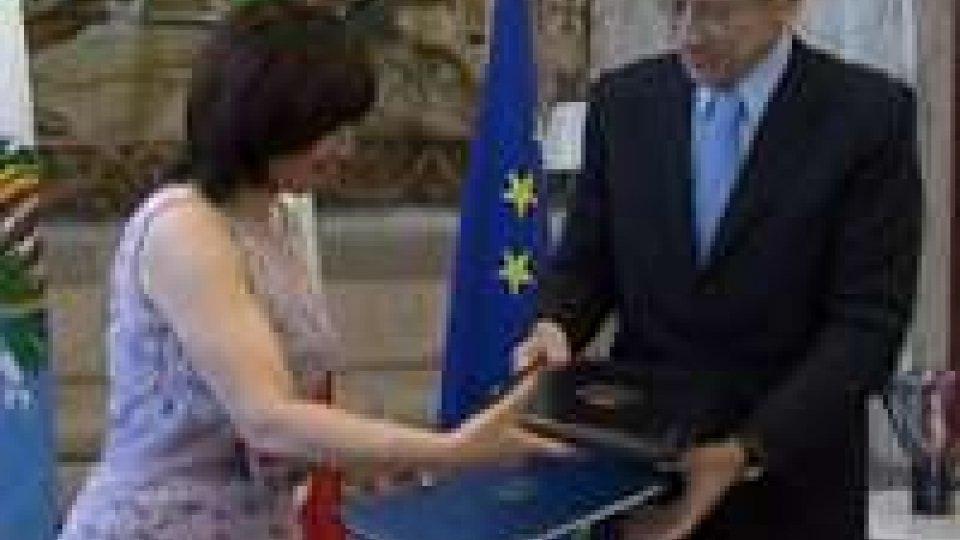 """San Marino - Firma del 13 giugno, AG: """"Data che rimarrà nella storia"""""""