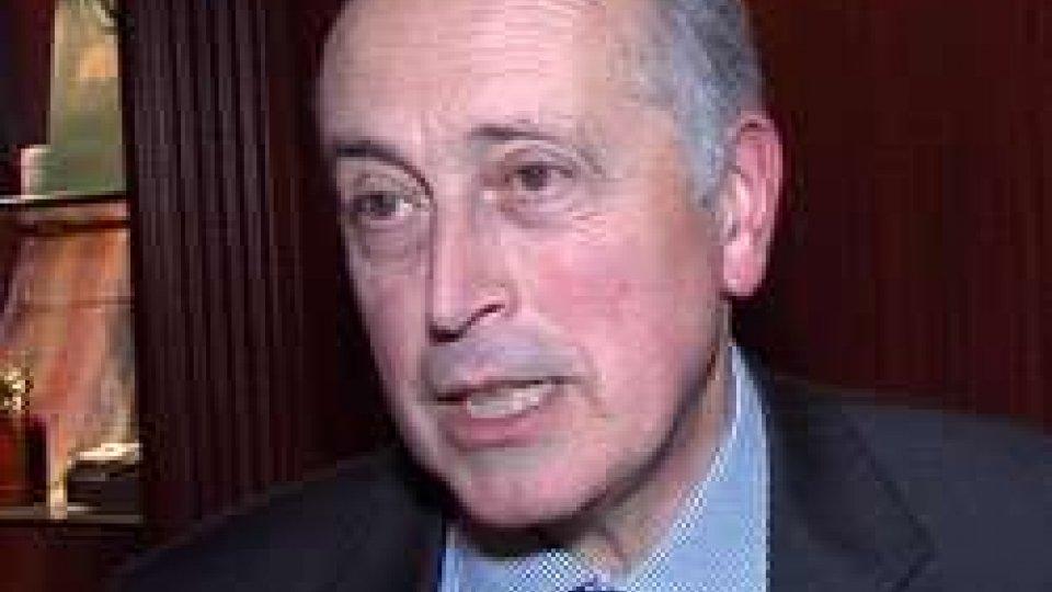 Giancarlo AbeteGiancarlo Abete a San Marino