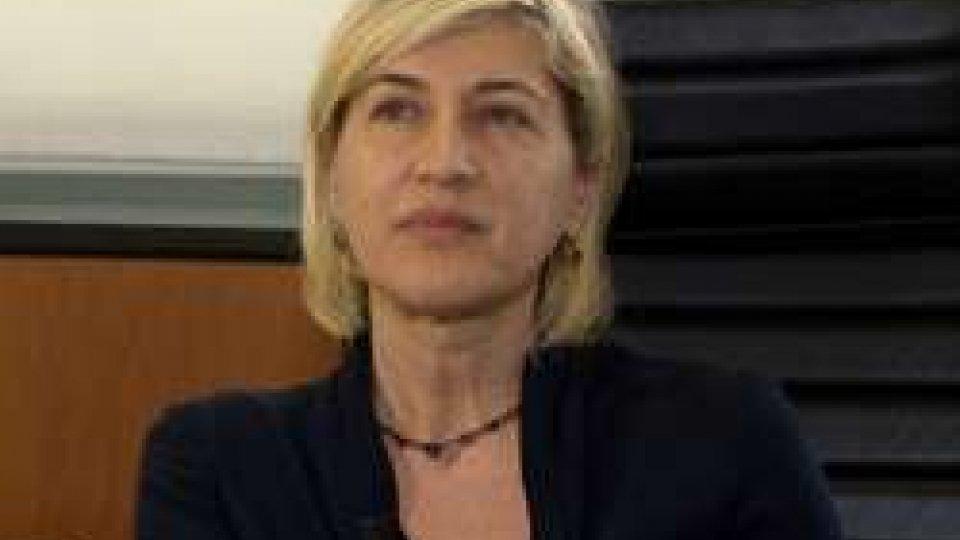 """Catia TomasettiPresidente BCSM, Tomasetti a RTV: """"Una Banca Centrale dialogante; che vigila, ma non vessa"""""""